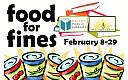 Thumbnail : Food for Fines at The Hailey Public Library