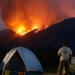 Beaver creek fire tent