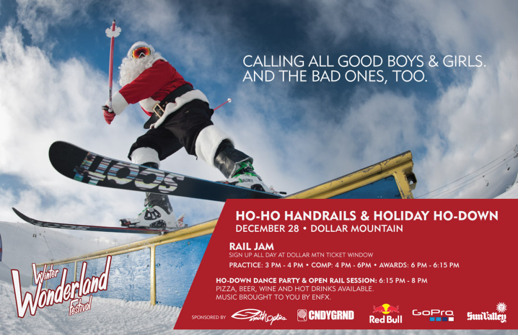 Ho Ho Handrails and Holiday Ho-Down