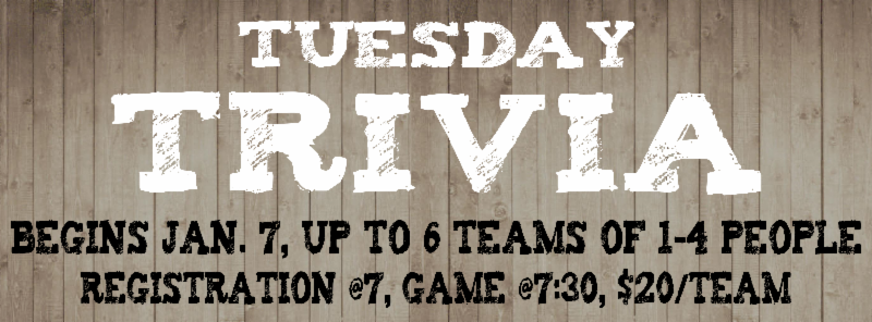 sawtooth brewery tuesday trivial