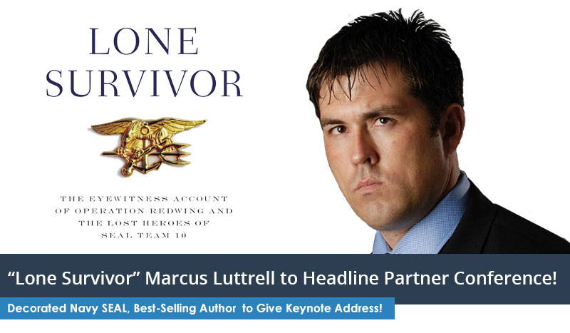 Marcus Luttrell Lone Survivor 2015 LiveRez Partner Conference